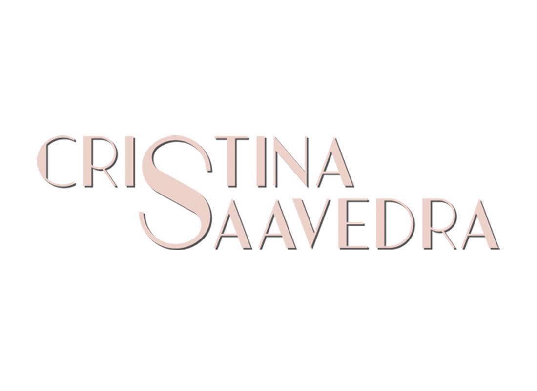 Diseño de logo Cristina Saavedra