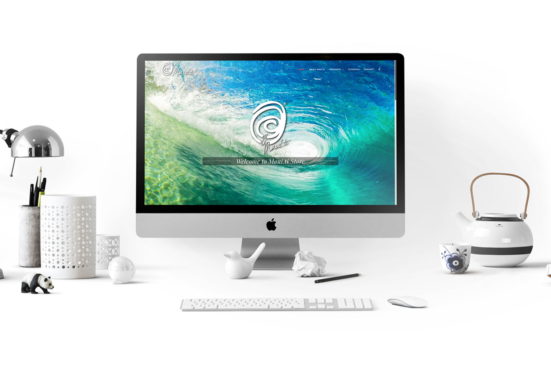 Web Design Maui.ti store
