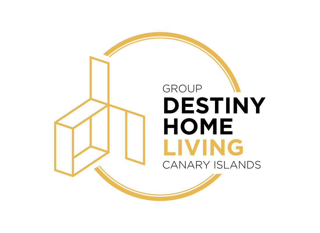Diseño gráfico logo Destiny Home