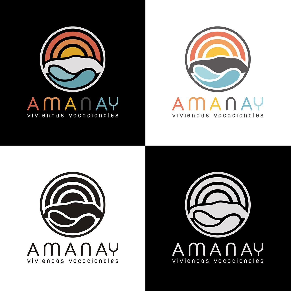 Logo design Amanay