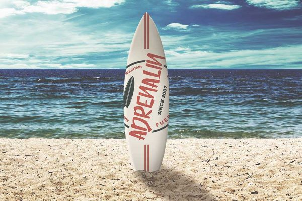 Branding Surf Adrenalin
