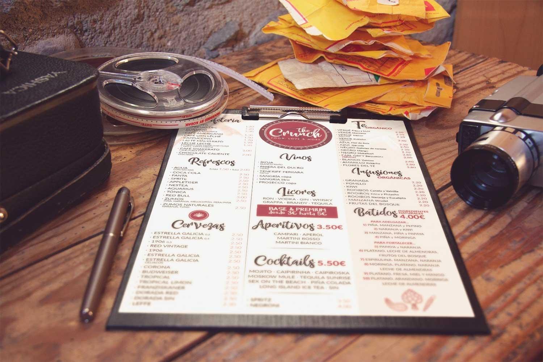 Diseño de cartas Crunch